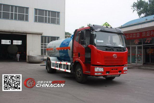HGJ5140GYQ型安瑞科牌液化气体运输车图片1