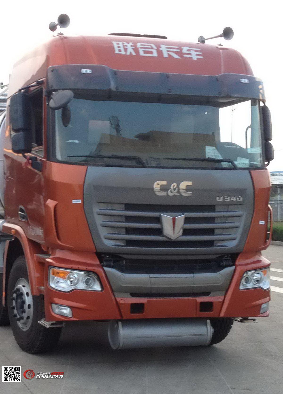 HGJ5310GDY型安瑞科牌低温液体运输车图片2