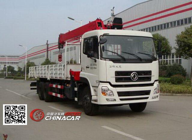 常林牌CHL5250JSQD4型随车起重运输车图片