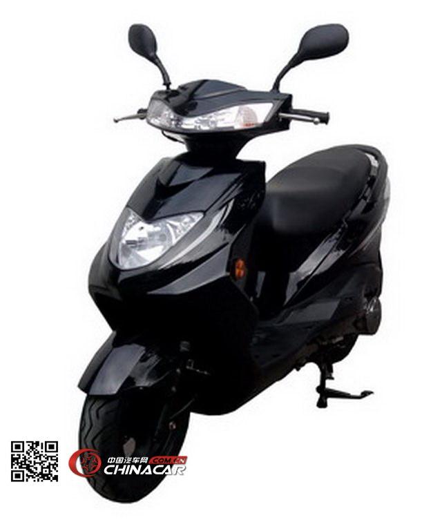 粤豪牌YH125T-3A型两轮摩托车图片