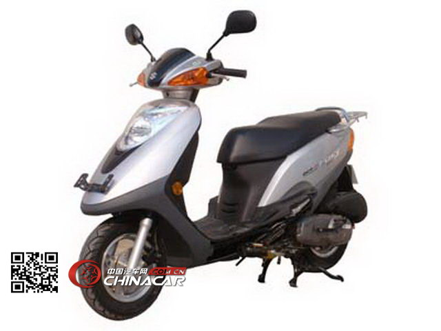 轻骑铃木牌QS100T-A型两轮摩托车图片