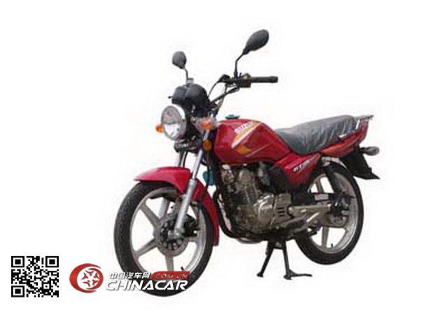 轻骑铃木牌QS125-5F型两轮摩托车图片