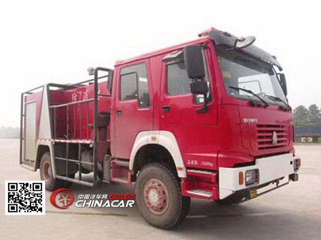 程力威牌CLW5130GXFSL20型森林消防车图片1