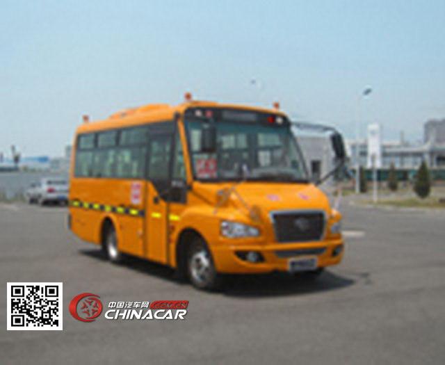 解放牌CA6680PFD81S型小学生专用校车图片1