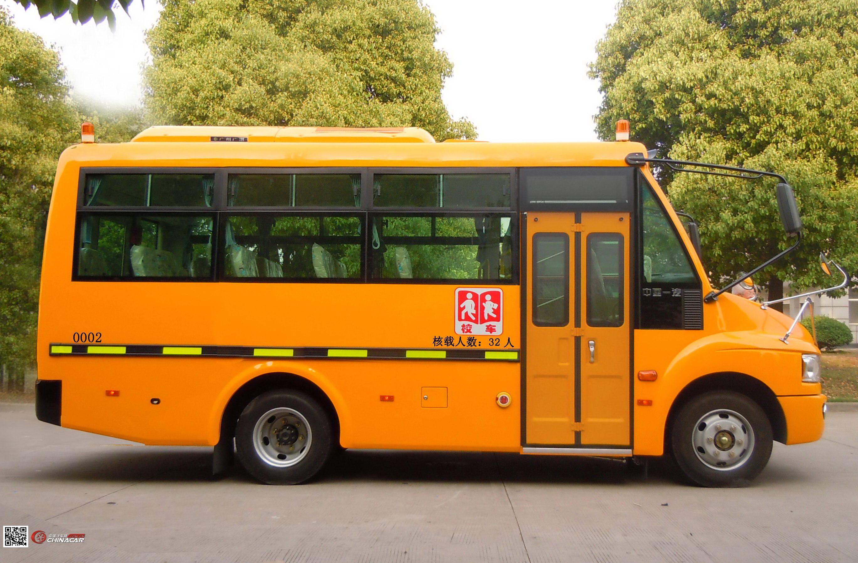 解放牌CA6680PFD81S型小学生专用校车图片2