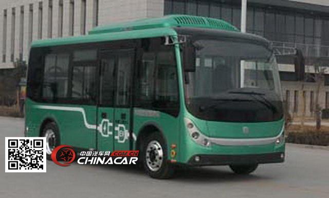中通牌lck6670ev型纯电动客车图片1