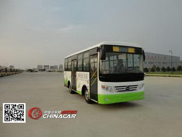 黑龙江牌HLJ6681BEV型纯电动城市客车图片1