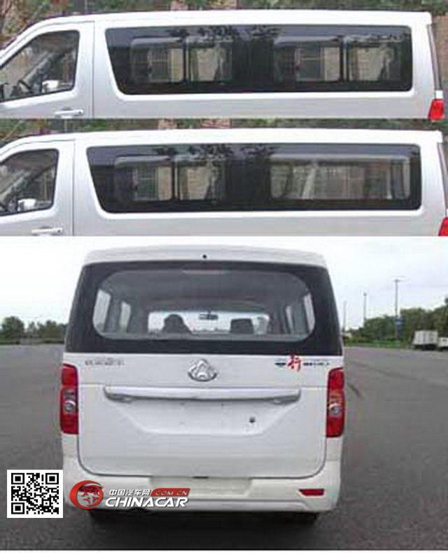 长安牌SC6483B4型多用途乘用车图片2