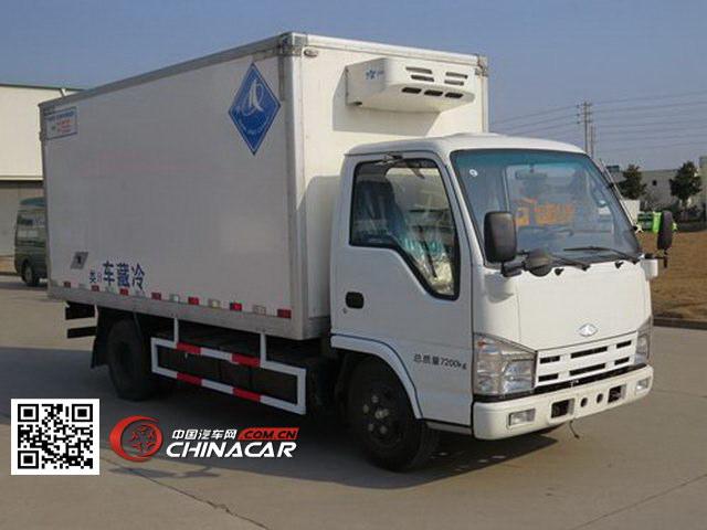 金龙牌NJT5071XLCBEV型纯电动冷藏车图片