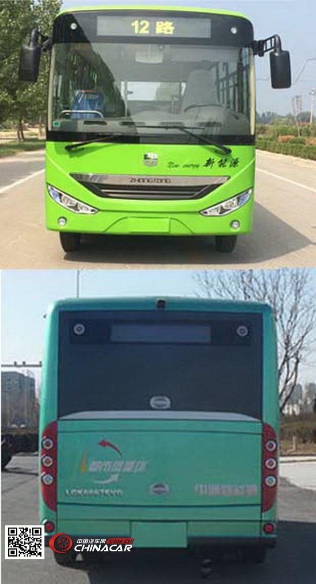 lck6660evg3型中通牌纯电动城市客车图片3