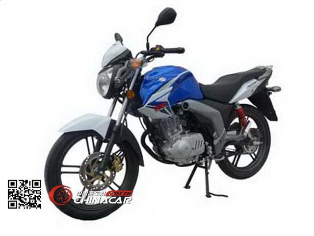 轻骑铃木牌GSX150型两轮摩托车图片