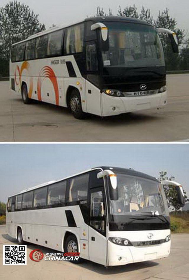海格牌klq6125zev1h型纯电动客车图片
