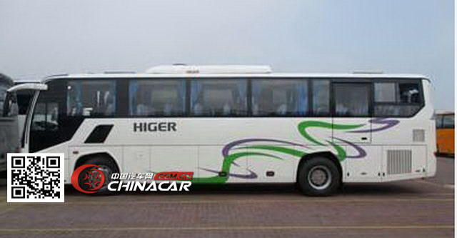 海格牌klq6115hzev1h型纯电动客车图片