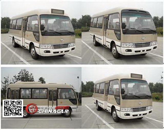 klq6702ev0x型海格牌纯电动客车图片3