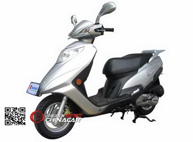 铃木(SUZUKI)牌UM125T型两轮摩托车图片