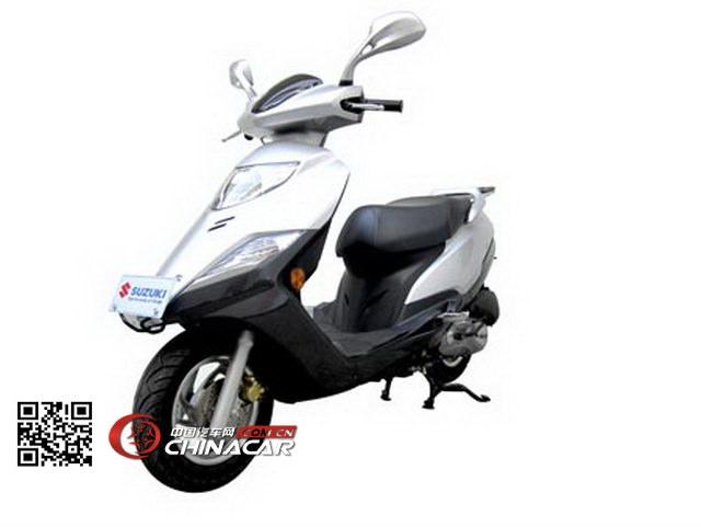 铃木(SUZUKI)牌UM125T-A型两轮摩托车图片