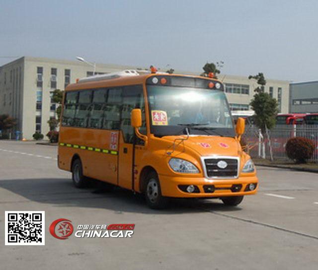 解放牌CA6681PFD81S型小学生专用校车图片1