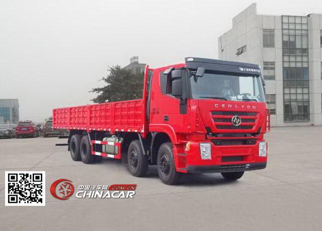 红岩 前四后八 350马力 柴油 15-20吨 载货汽车货车 cq1315hxvg466hh