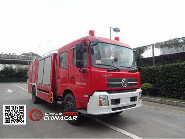 上格牌SGX5130TXFGF30/EQ型干粉消防车图片1