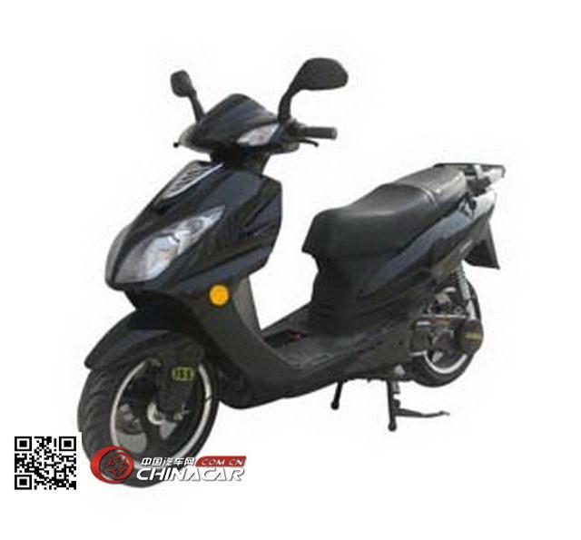 跃进牌YJ150T-B型两轮摩托车图片