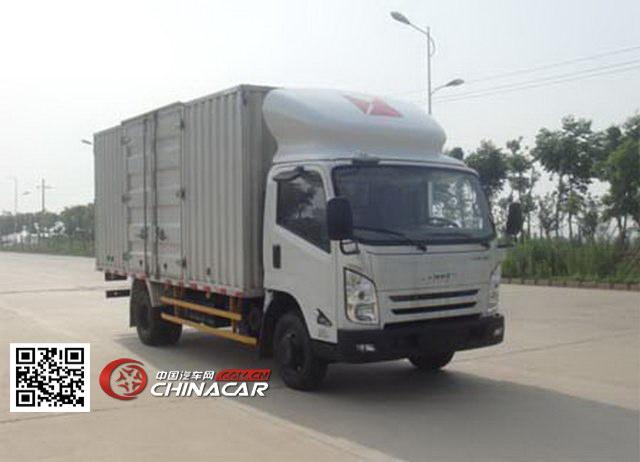 江铃牌JX5087XXYXKA2型厢式运输车图片