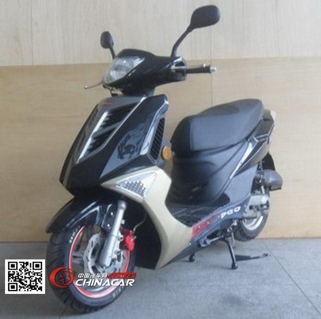 ZY50QT-30型战雅牌两轮轻便摩托车图片1