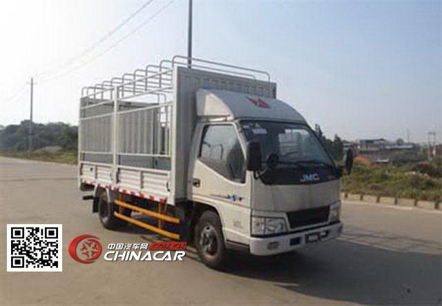 江铃牌JX5044CCYXGA2型仓栅式运输车图片