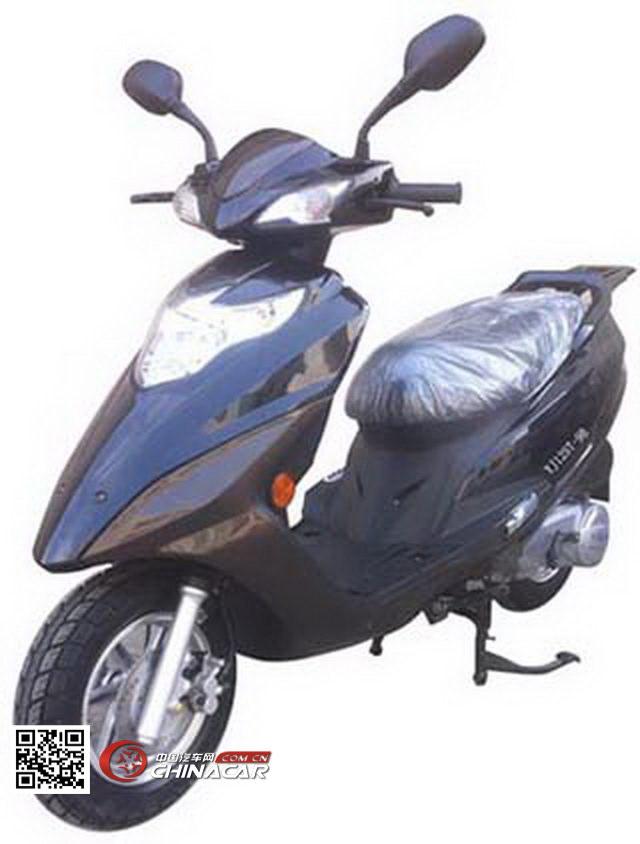 跃进牌YJ125T-9B型两轮摩托车图片