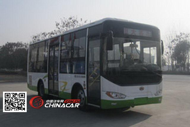 HQG6810HEV型楚风牌插电式混合动力城市客车图片1