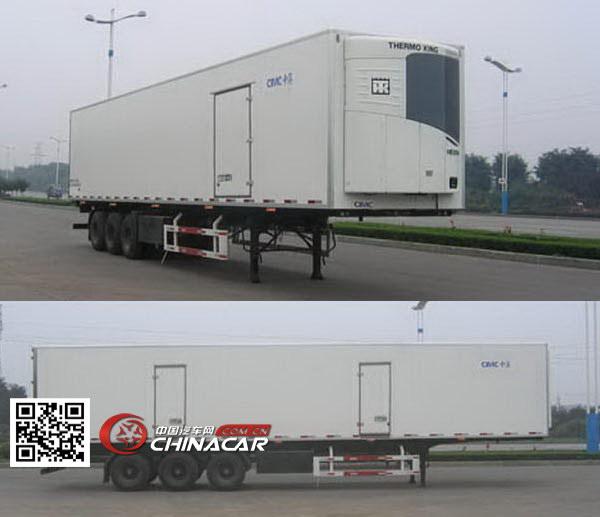 ZJV9400XLCSD型中集牌冷藏运输半挂车图片2