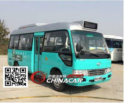 klq6602ev0x1型海格牌纯电动客车图片3