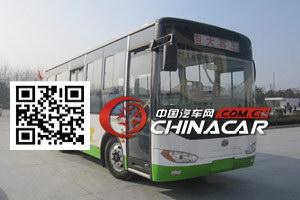 HQG6821HEV型楚风牌插电式混合动力城市客车图片1