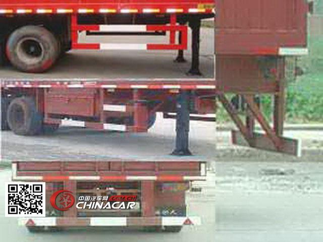 江淮扬天 13米 30吨 3轴 厢式运输半挂车 cxq9393xxy