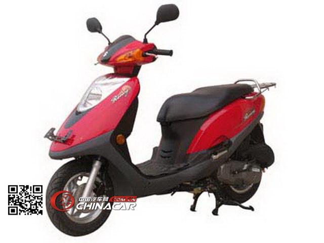 轻骑铃木牌QS100T-B型两轮摩托车图片