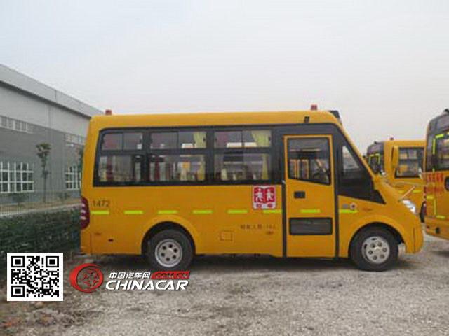 合客牌HK6581KX4型小学生专用校车图片3