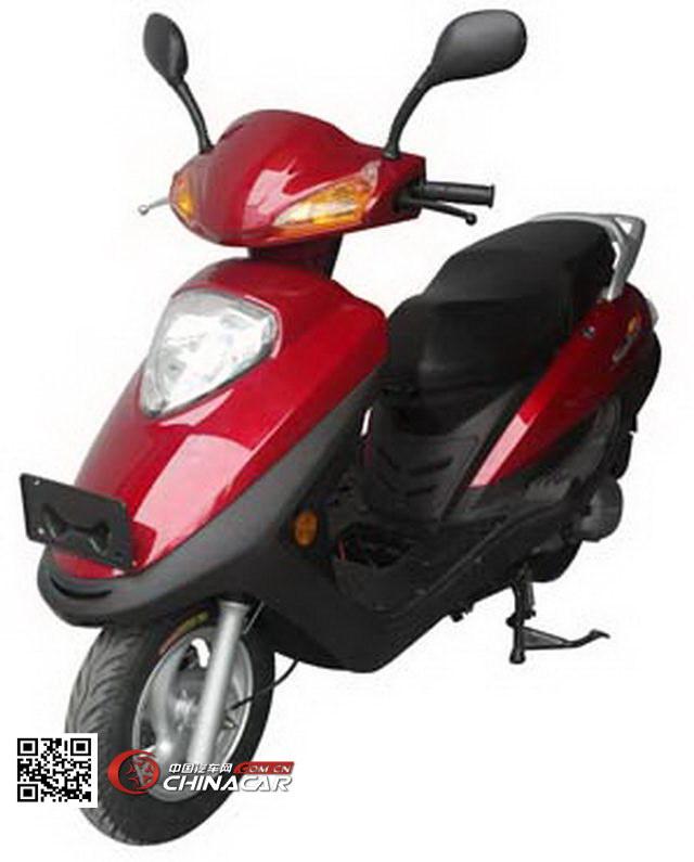 粤豪牌YH125T-6A型两轮摩托车图片