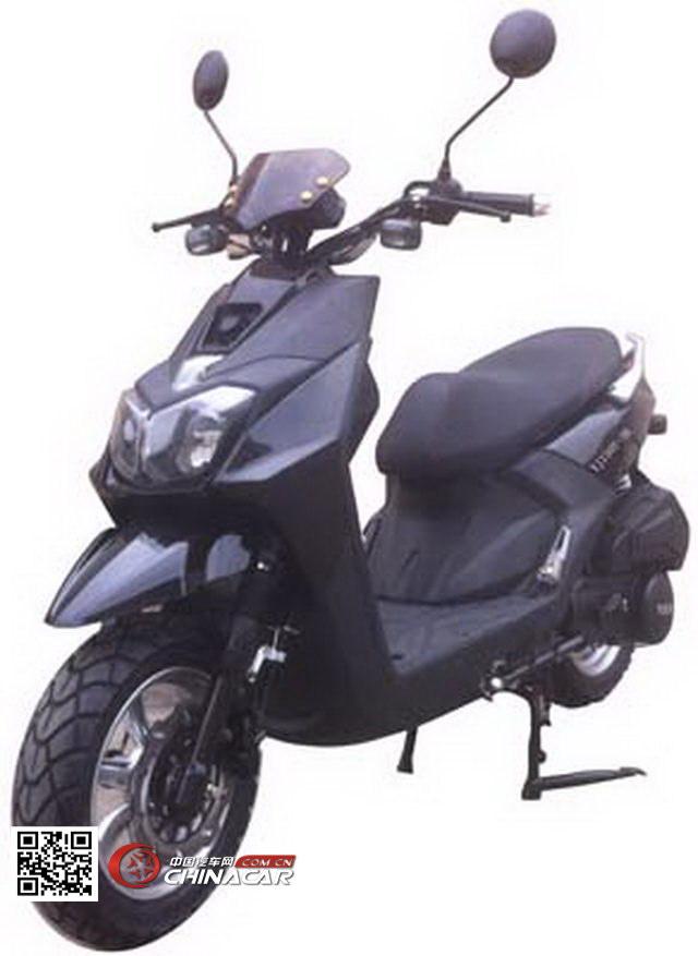 跃进牌YJ150T-3B型两轮摩托车图片