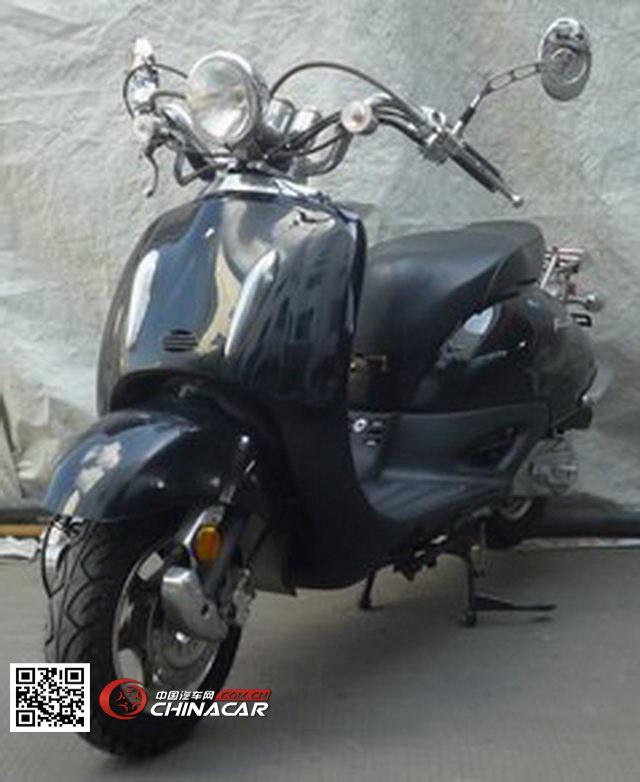 RY50QT-34型日雅牌两轮轻便摩托车图片1