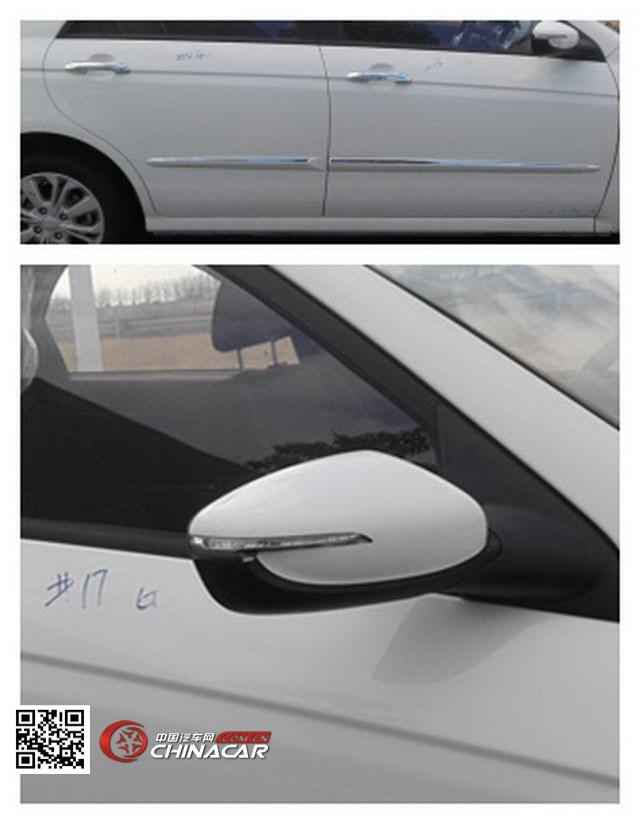 YQZ7162GC4型起亚牌两用燃料轿车图片3