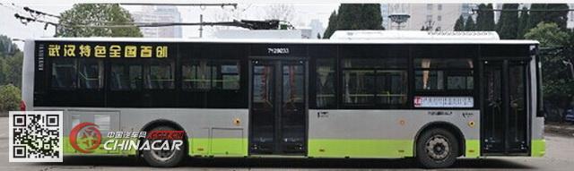 扬子江牌WG6124BEVH型纯电动城市客车图片1