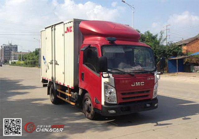 江铃牌JX5057XXYXBD2型厢式运输车图片