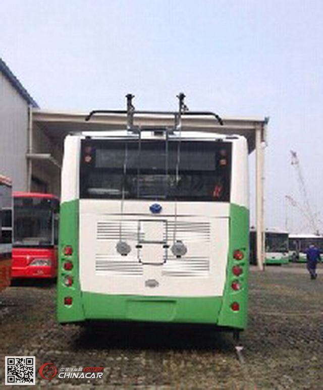 扬子江牌WG6100BEVH型纯电动城市客车图片3