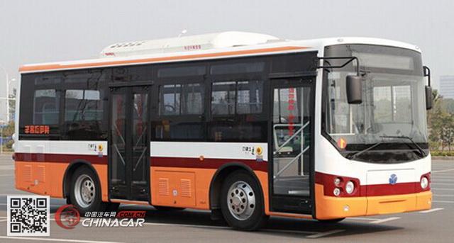 扬子江牌WG6821BEVH型纯电动客车图片1