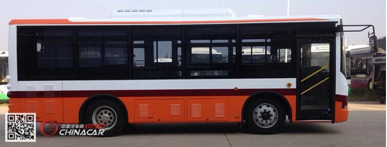 扬子江牌WG6821BEVH型纯电动客车图片2