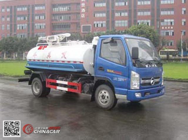 凯马牌KMC5072GXE33D4型吸粪车