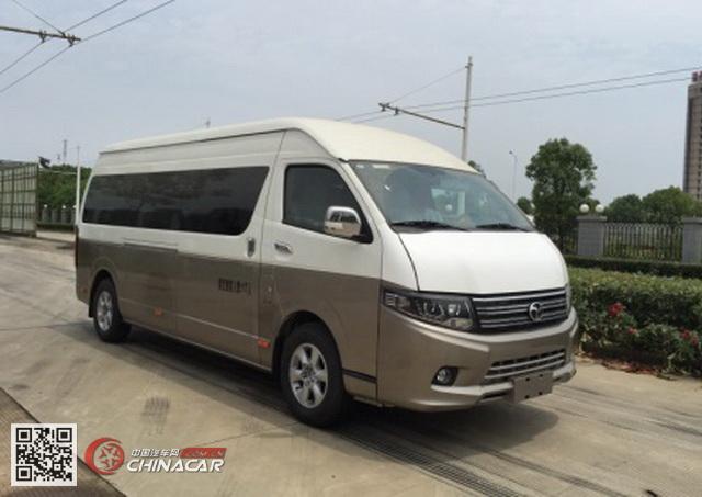 扬子江牌WG6612BEVZ型纯电动客车图片1