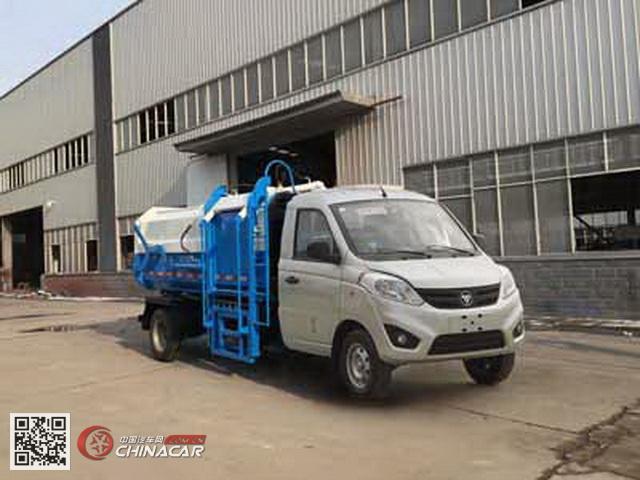 楚飞牌clq5030xty5bj型密闭式桶装垃圾车图片1