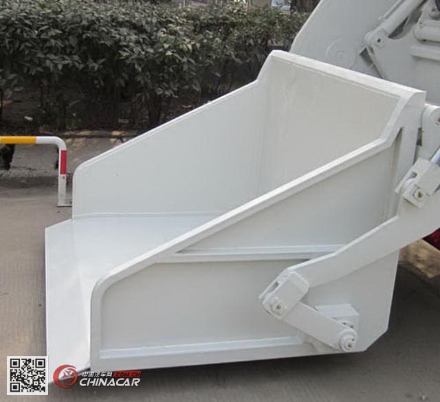 KR5070ZYS4型九通牌压缩式垃圾车图片2