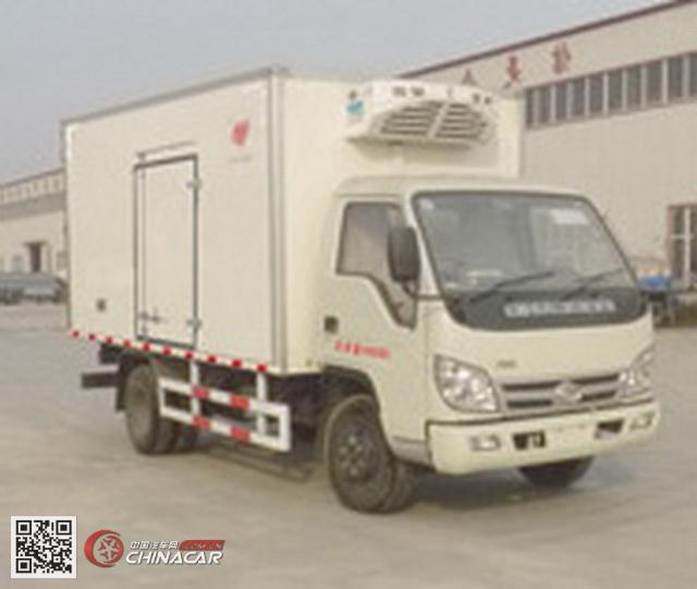 旗林牌QLG5043XLC-B型冷藏车图片