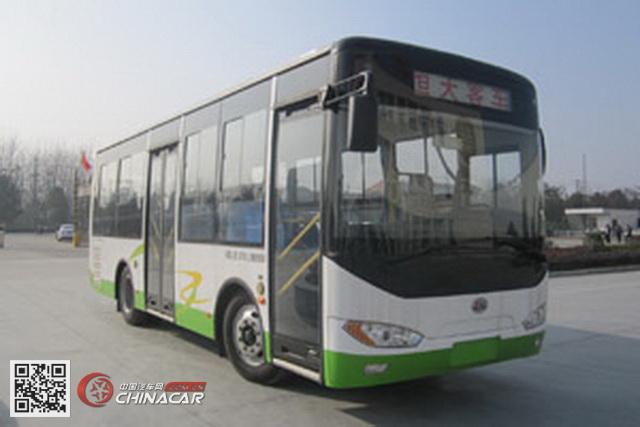 楚风牌HQG6821HEV型插电式混合动力城市客车图片1